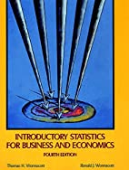 Introductory Statistics for Business and…