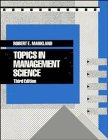 Topics in Management Science, 3rd Edition by…
