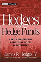 Hedges on Hedge Funds: How to Successfully…