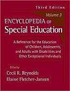 Encyclopedia of Special Education, Vol. 3…