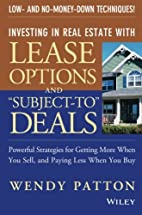 Investing in Real Estate With Lease Options…