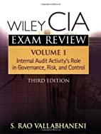 Wiley CIA Exam Review, Volumes 1-4 Set…