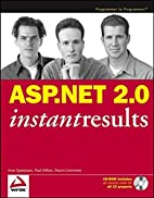 ASP.NET 2.0 Instant Results by Imar…
