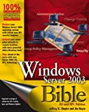 Boyce, Jim: Windows Server 2003 Bible