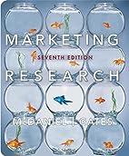 Marketing research by Carl D. McDaniel