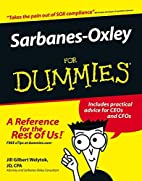 Sarbanes-Oxley For Dummies by Jill Gilbert…
