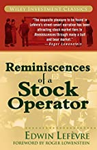 Reminiscences of a Stock Operator by Edwin…
