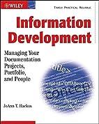 Information Development: Managing Your…
