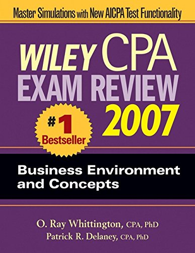 wiley-cpa-exam-review-2007-business-environment-and-concepts