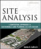 Site Analysis: A Contextual Approach to…
