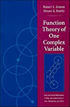 Function Theory of One Complex Variable by…