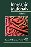 Edited by: Duncan W. Bruce: Inorganic Materials, 2nd Edition
