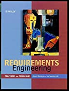 Requirements Engineering: Processes and…