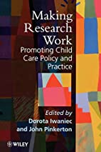 Making research work : promoting child care…