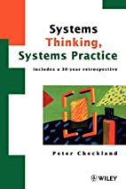 Systems Thinking, Systems Practice: Includes…