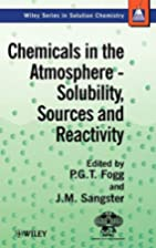 Chemicals in the atmosphere : solubility,…