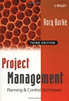 Project Management: Planning and Control by…