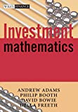 Andrew A. Adams: Investment Mathematics