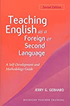 Teaching English as a Foreign or Second…