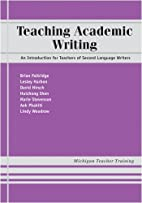 Teaching Academic Writing: An Introduction…
