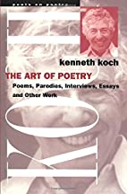 The Art of Poetry (Poets on Poetry) by…