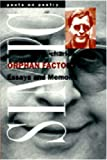 Simic, Charles: Orphan Factory: Essays and Memoirs (Poets on Poetry)