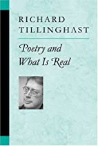 Poetry and What is Real (Poets on Poetry) by…