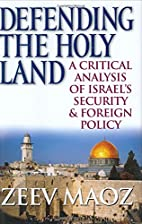 Defending the Holy Land: A Critical Analysis…