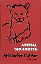 Animal Sketching by Alexander Calder