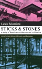 Sticks and Stones (Dover Books on…