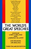 Copeland, Lewis: World's Great Speeches