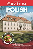 Dover: Say It in Polish (Dover Language Guides Say It Series)