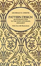 Pattern Design: An Introduction to the Study…