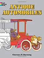 Antique Automobiles Coloring Book by…