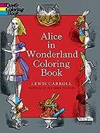 Alice in Wonderland Coloring Book by Lewis…