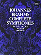 Complete symphonies in full orchestral score…