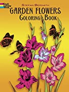 Garden Flowers Coloring Book (Color Your…