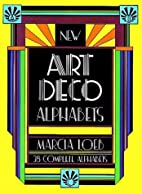 New Art Deco Alphabets (Dover Pictorial…