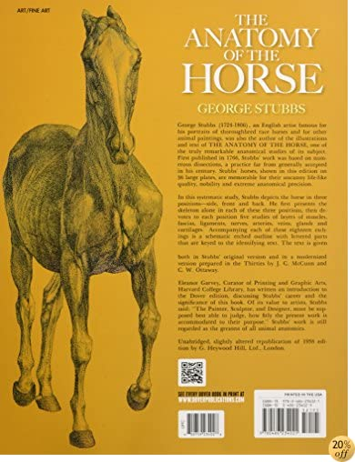 The Anatomy of the Horse (Dover Anatomy for Artists)
