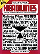 Ready-to-Use Headlines by Ted Menten