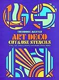 Menten, Theodore: Art Deco Cut & Use Stencils