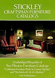 Stickley Craftsman Furniture Catalogs by…