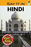 Dover: Say It in Hindi (Dover Language Guides Say It Series)