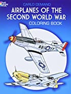 Airplanes of the Second World War Coloring…