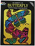 Sibbett, Ed: Butterfly Stained Glass Coloring Book