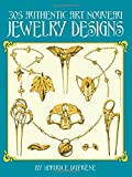 Dufrene, Maurice: 305 Authentic Art Nouveau Jewelry Designs