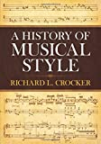 Crocker, Richard L.: A History of Musical Style