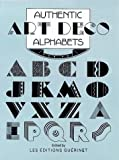 Les Editions Guerinet: Authentic Art Deco Alphabets