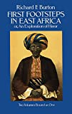 Burton, Richard F.: First Footsteps in East Africa Or, an Exploration of Harar