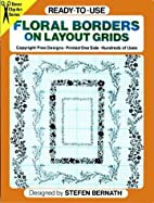 Ready-to-Use Floral Borders on Layout Grids…